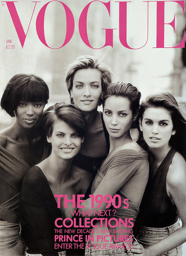 UK Vogue The Supermodels