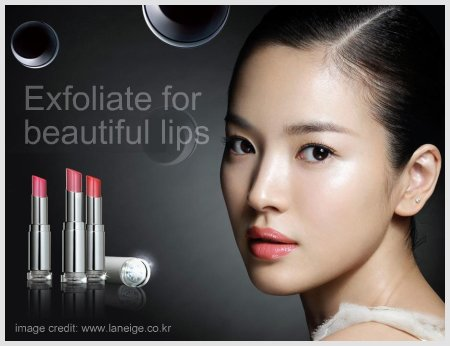 Song Hye Kyo Laneige Lipsticks