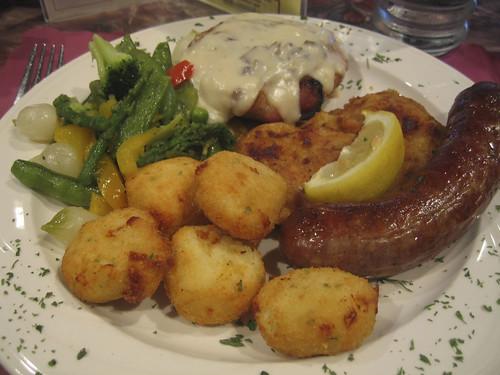 yummy german sampler plate