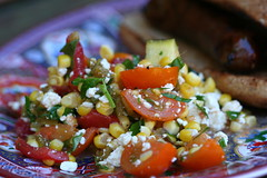 Grilled Corn and Cotija Salad 1