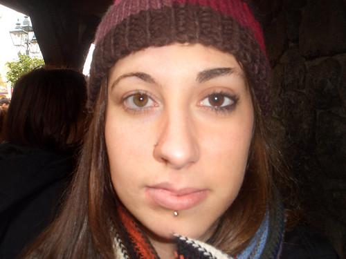 half a face
