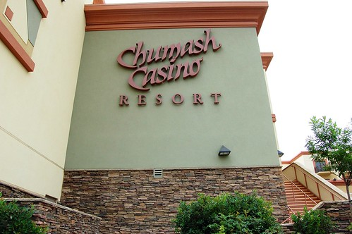 Escorted Out of Chumash Casino