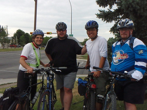 Team Airdrie at 2700 KM