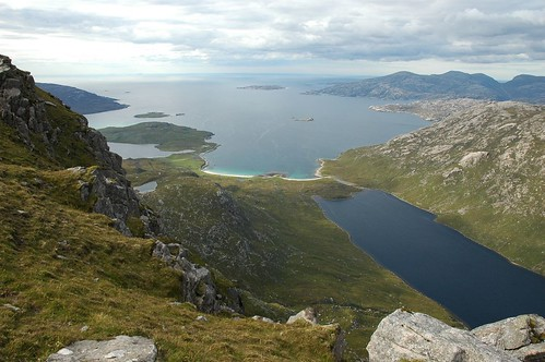 Loch Cleabhaig and Tharanais
