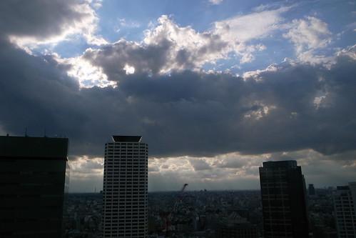 新宿からの展望