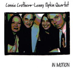 Connie Crothers - Lenny Popkin | In Motion, front cover