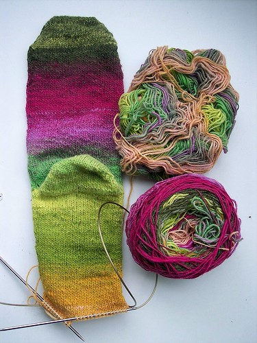 noro sock second bottom ed by you.