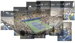 US Open Womens Final (AdamKaras) Tags: usopen panograph womensfinal