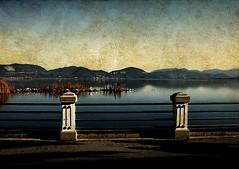 Im Abendrot (Visualtricks) Tags: sunset lake lago bravo textures strauss lied crepuscolo golddragon infinestyle overtheexcellence lesamisdupetitprince