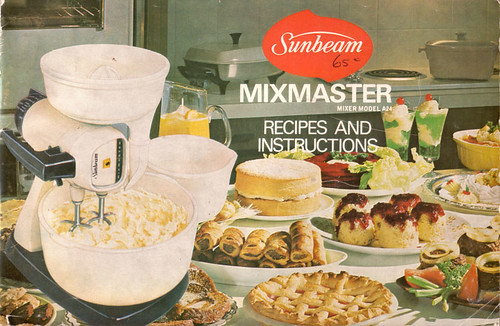 Sunbeam Mixmaster Recipe Book