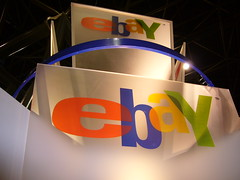 eBay booth at Web 2.0 Expo New York