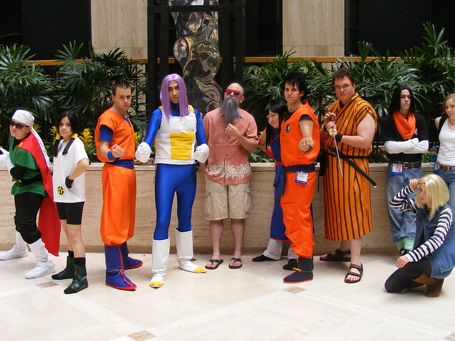 Cosplay - AWA14 - Dragonball Z