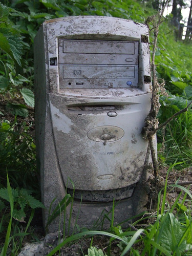 abandoned personal computer