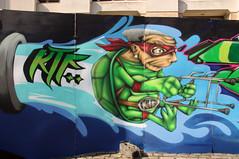 KTF ninja (Yipski) Tags: streetart bristol graffiti ninja ktf sepr bristolfestival brizzolfest