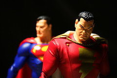 Captain Marvel and Superman (chanchan222) Tags: alex comics toys justice dc ross vinyl kingdom superman captain come marvel figures league pvc shazam danchan danielchan chanchan222 wwwchanofamericacom chanwaibun httplifeofplasticcom