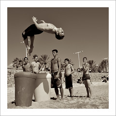 beach parkour (josepmaria) Tags: barcelona pentax action parkour k20d beachparkour