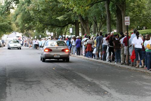 The line on Sunken Road.