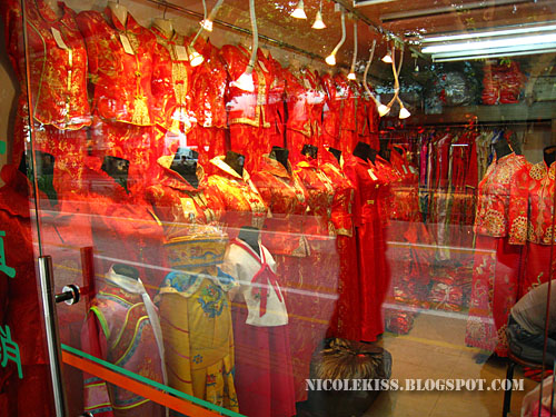 chinese red costume 2