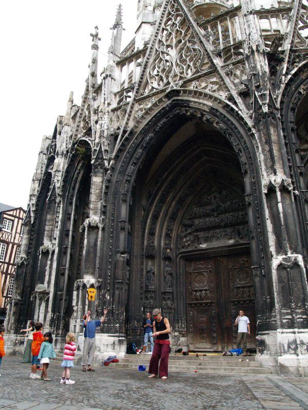 Payasos-iglesia