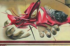 streetart (wojofoto) Tags: streetart holland art amsterdam graffiti kunst nederland urbanart netherland stadsarchief straatkunst polderweg schutting wolfgangjosten wojofoto