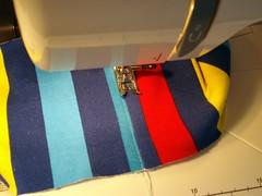 Top-Stitch Wastband