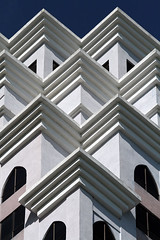 A building in Penang (Bertrand Linet) Tags: windows building window arquitetura architecture angle balcony angles georgetown malaysia balconies penang balcon archi malaisie penangisland pulaupinang 5photosaday bertrandlinet