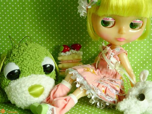 Blythe MRM - Bubble 4 by Nekounette.