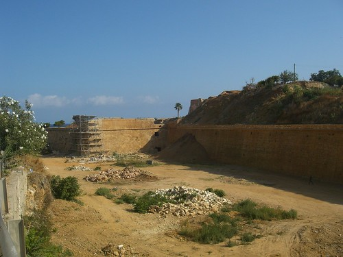 western side of wall hania chania