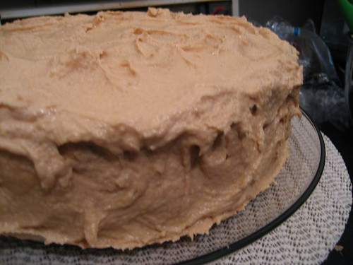Jeremy's Chocolate Peanut Butter Cake