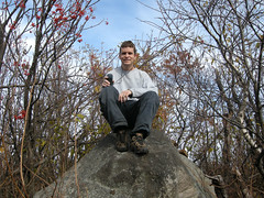 Me at the summit of Ishpatina Ridge