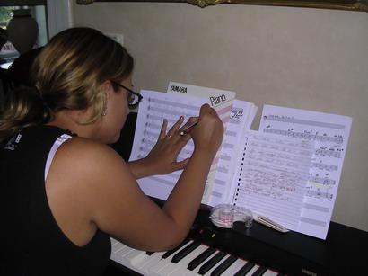 Camilla gör musik