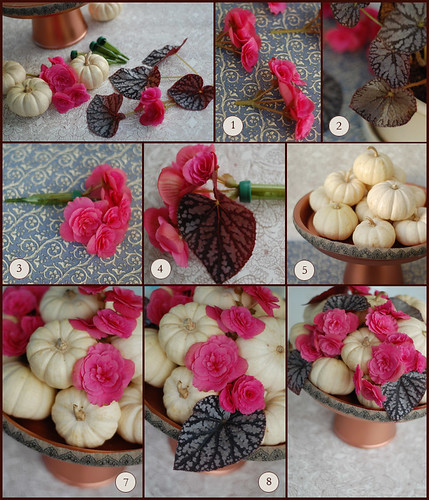 feminine fall centerpiece instructions
