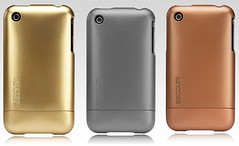 metallic iPhone slider case by momentimedia