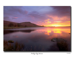 Embsay Crag Sunrise (SteveMG) Tags: longexposure lake sunrise landscape yorkshire smg tarn picturesque yorkshiredales 10mm embsay eos50d