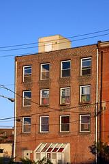 the obama building (damonabnormal) Tags: street city urban philadelphia canon october oct streetphotography philly friday phl obama 40d obamania obamastreetart