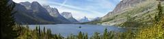 St. Mary Lake Glacier - Panorama (Creativity+ Timothy K Hamilton) Tags: park panorama lake ice st composite landscape montana image pano mary glacier national microsoft editor