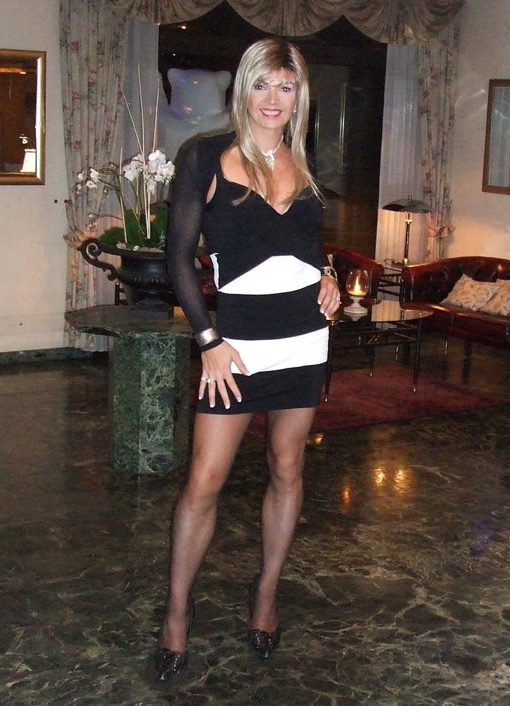 Crossdressing in hotel