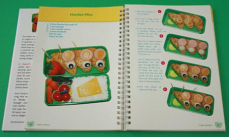 Mandoo Mice from Hawaii's Bento Box Cookbook