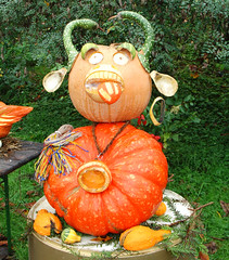 Happy Halloween (Habub3) Tags: autumn halloween nature pumpkin happy photo autumncolors ludwigsburg krbis herbstfarben viewonblack habub3
