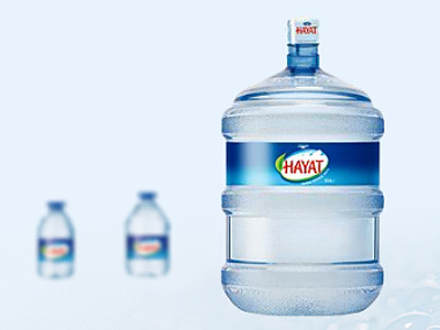 hayat su çek - aç kapaklı su şişesini piyasaya sürdü :)
