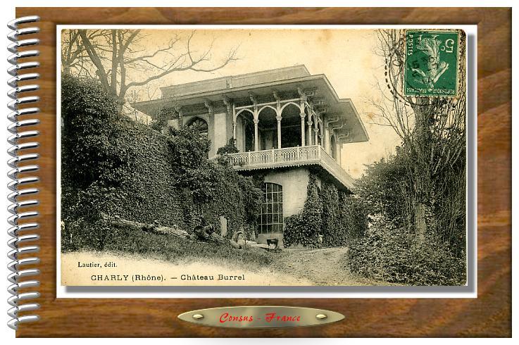 CHARLY (Rhône) - Château  Burrel