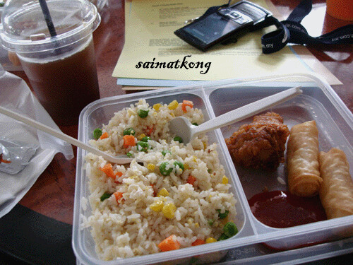 KL Tower Lunch Box