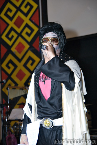 Liang as Elvis