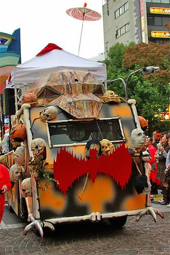 bones car Kawasaki Halloween 2008 16