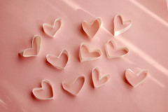 love*love*love (yoshiko314) Tags: love d70 scissors core tabletop heartshaped papercraft  onthetable 55mmf28aismicro