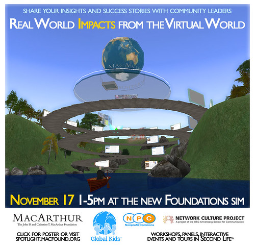Real World Impacts from Virtual World Event Nov 17 2008