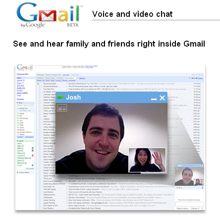 Video conferencia en Gmail