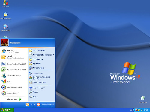 IE7 in Windows XP