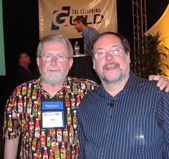 Jay with John Medina