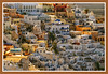 Veduta di Fira (carlo tardani) Tags: case santorini grecia veduta isola paese nikond80 cittadifira magicunicornverybest febbraio2011challengewinnercontest